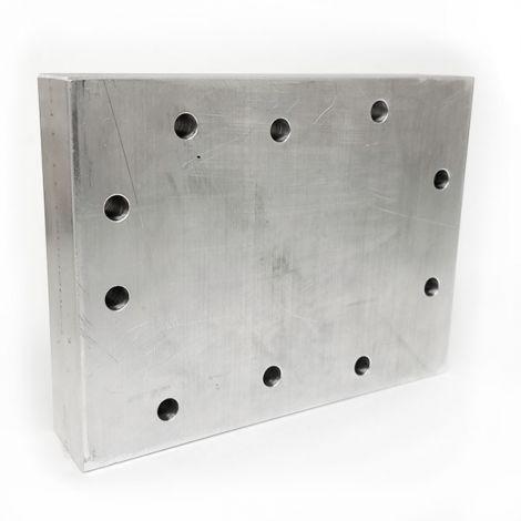 Billet 16 HP Aluminum Head Blank