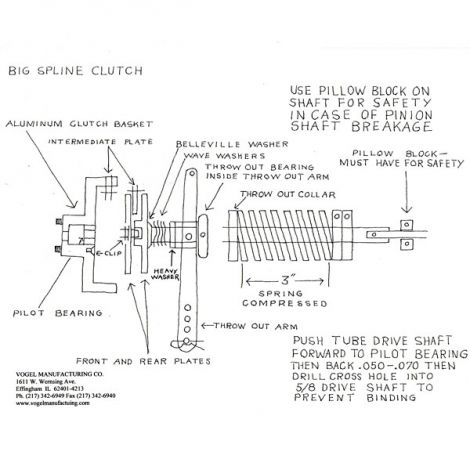 Clutch Parts - Large Spline Clutch