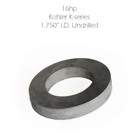 """Exhaust Flange 1.750"""" x 1/2"""" Thick"""