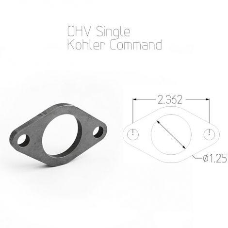 Kohler Command Single Cylinder Exhaust Flange