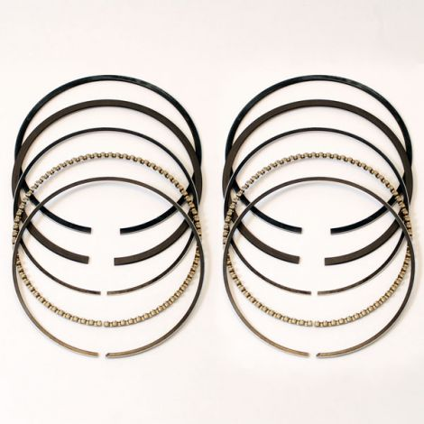 V-Twin Piston Rings Conventional 3-Ring Set