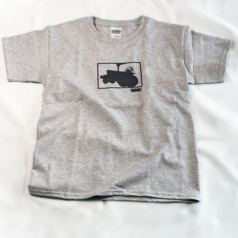 Youth Limited Edition Big Tractor T-Shirt in Sport Grey