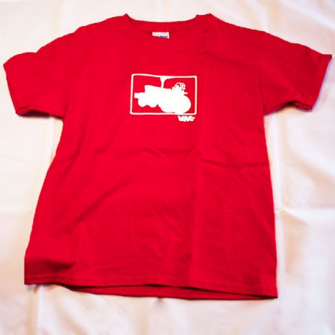 Youth Limited Edition Big Tractor T-Shirt in Red
