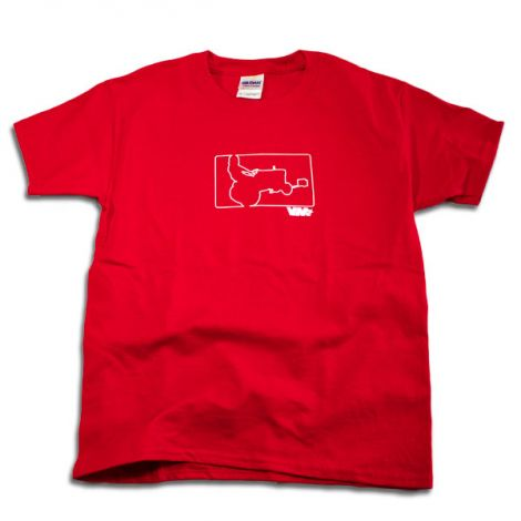 Youth Limited Edition GardenTractor T-Shirt in Red