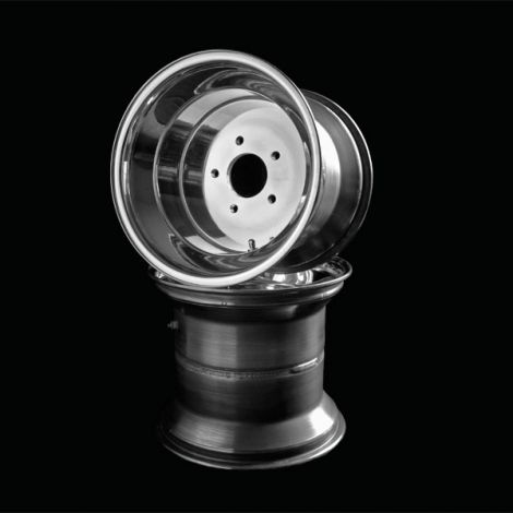 VM Aluminum Rear Wheels 12 x10 (5+5 Offset)