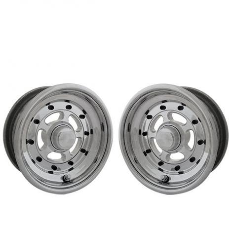 VM Spoke Front Wheels Silver