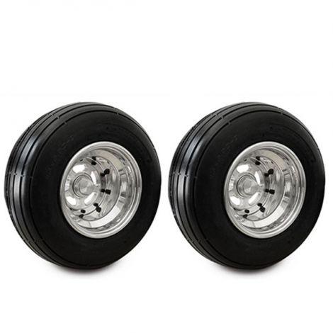 VM Spoke Front Wheels Combo Silver