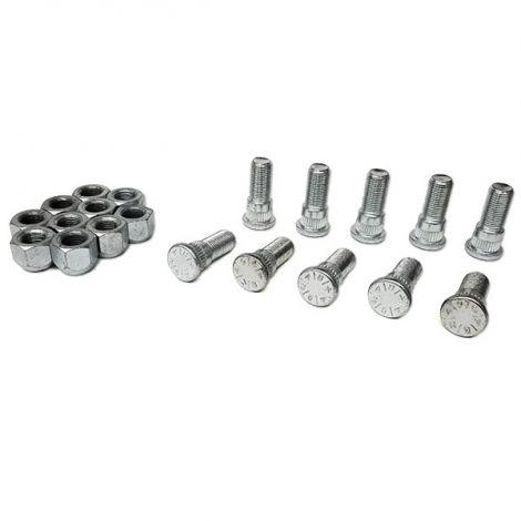 Wheel Studs w/Lug Nut Set
