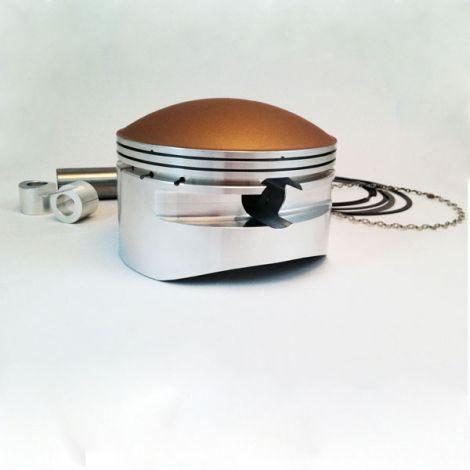 4.276 x 0.875 Dome Piston - Ceramic Coated Top