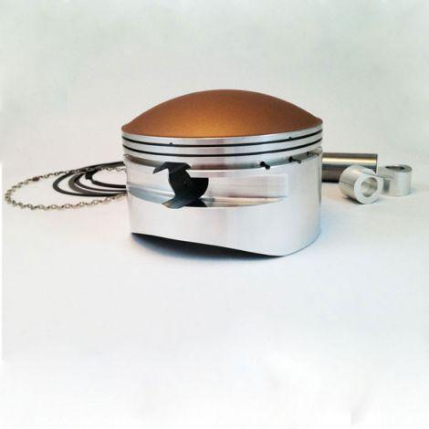 4.132 x 0.875 Dome Piston Ceramic Coated Top